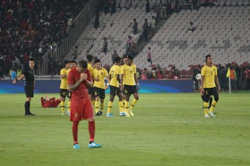 Timnas Indonesia kalah dari Malaysia