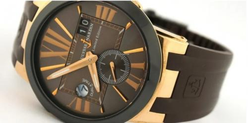 Jam tangan merek Ulysse Nardin (Foto: The Richest)