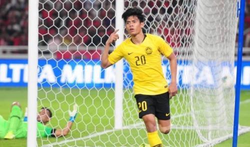 Gawang Timnas Indonesia dijebol Malaysia