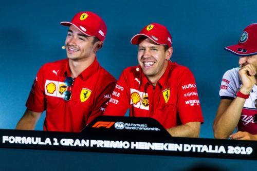 Charles Leclerc dan Sebastian Vettel (Foto: Scuderia Ferrari)