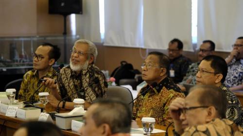 Kurangi Impor BBM, Menko Darmin Dukung Pengembangan Katalis ITB