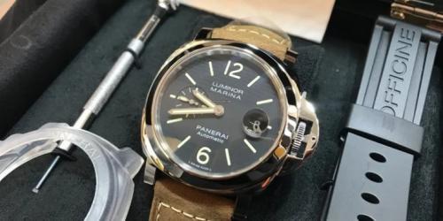 Jam tangan merek Panerai (Foto: The Richest)