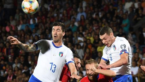 Timnas Italia sempat kesulitan membongkar pertahanan Armenia (Foto: UEFA)