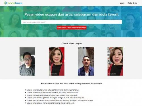 Sociabuzz Hadirkan Layanan Video Ucapan Personal