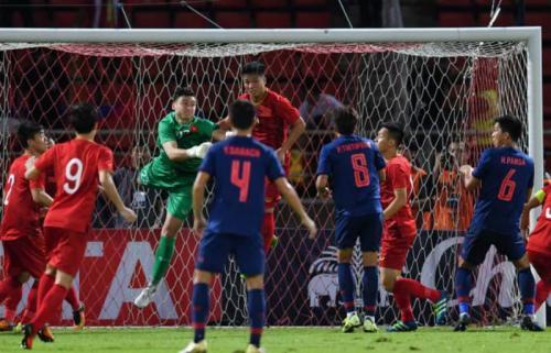 Timnas Vietnam sukses mengimbangi Thailand di Bangkok (Foto: AFC)