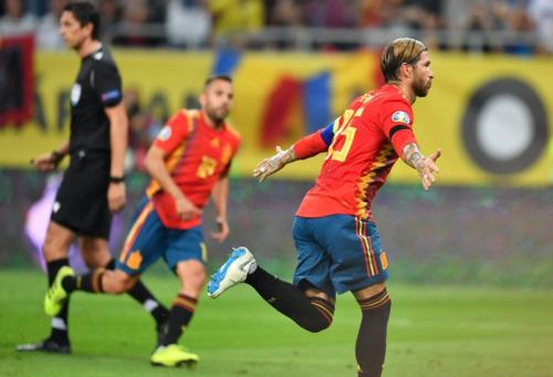Para pemain Timnas Spanyol