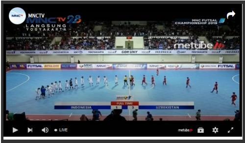 Timnas Futsal Indonesia vs Uzbekistan
