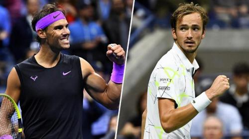 Rafael Nadal dan Daniil Medvedev