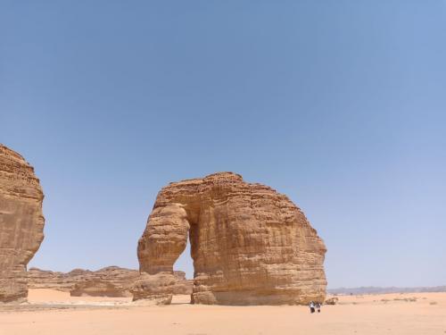 Jabal al Feel di Kota Ula, Madinah. (Okezone.com/Widi Agustian)