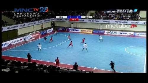 Timnas Futsal Indonesia vs KL City FC