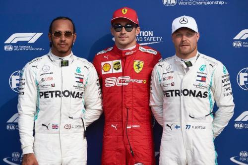Podium di GP Italia