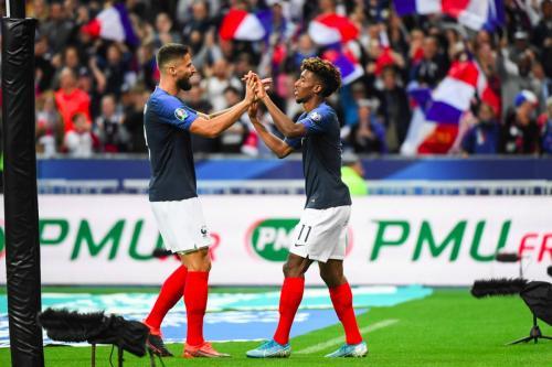 Laga Prancis vs Albania