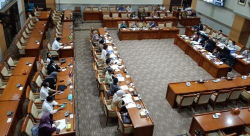 RDP antara Pansel Capim KPK dengan Komisi III DPR