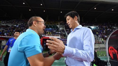 Akira Nishino ingin anak asuhnya menang atas Indonesia (Foto: AFC)
