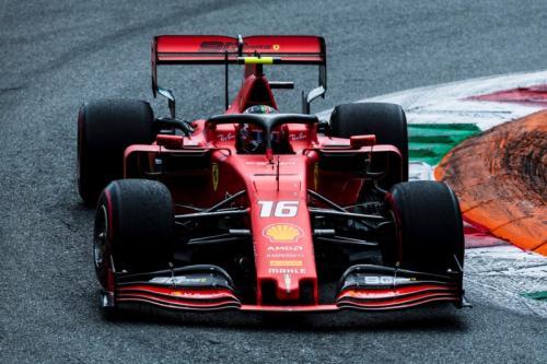 Charles Leclerc mampu tampil tenang di sisa balapan (Foto: Scuderia Ferrari)
