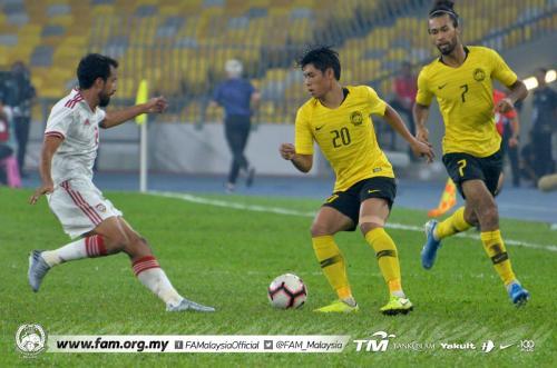 Bert van Marwijk menilai penampilan Timnas UEA mengecewakan saat menghadapi Malaysia (Foto: Twitter/FAM_Malaysia)