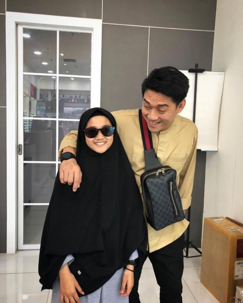 Ifan Seventeen dan putrinya