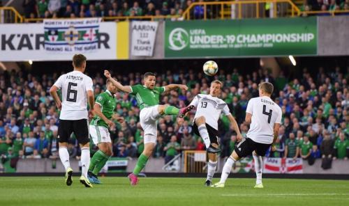 Laga Irlandia Utara vs Jerman