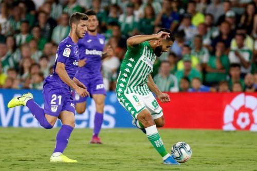 Nabil Fekir tampil untuk Real Betis (Foto: Twitter/@RealBetis_en)