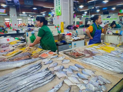 Pasar Tradisional di Hangzou