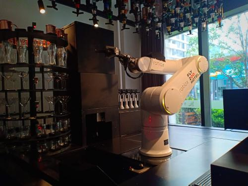 Robot Pembuat Kopi