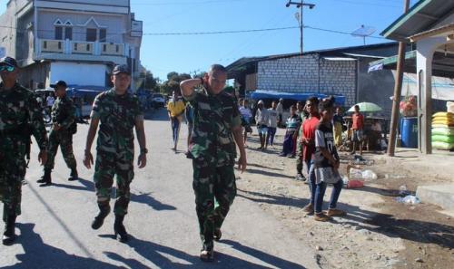 Satgas Pamtas RI-Timor Leste