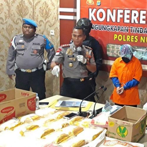 Polisi menangkap kurir narkoba
