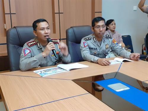 Dirlantas Polda Jatim, Kombes Budi Indra Dermawan (foto: Okezone/Syaiful Islam)