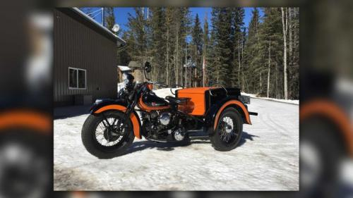 Harley roda tiga
