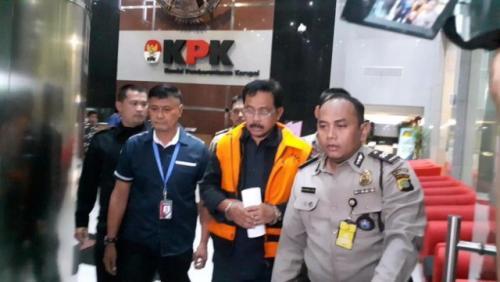 Gubernur nonaktif Kepulauan Riau, Nurdin Basirun. (Foto: Dok Okezone.com)
