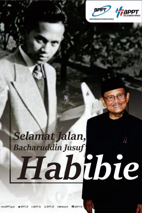 Kepala Badan Pengkajian dan Penerapan Teknologi (BPPT) Hammam Riza mengatakan bahwa Habibie merupakan pendiri BPPT.