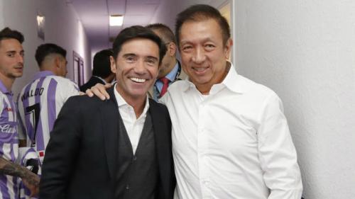 Marcelino dan Peter Lim (Foto: Marca)