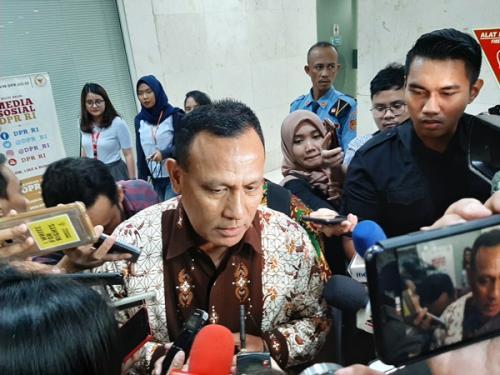 Capim KPK Irjen Firli Bahuri. (Foto : Okezone.com/Harits Tryan Akhmad)
