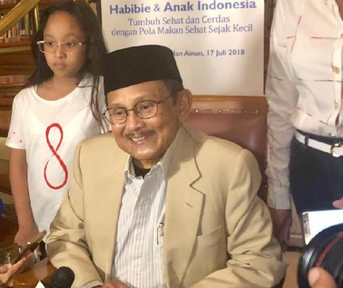 BJ Habibie wafat pada Rabu 11 September 2019 (Foto: Okezone/Muhammad Sukardi)