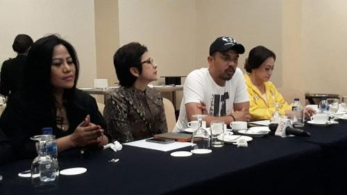 Caleg Partai Golkar bakal dapat penghargaan dari Ketum Airlangga (Foto: Okezone/Achmad)