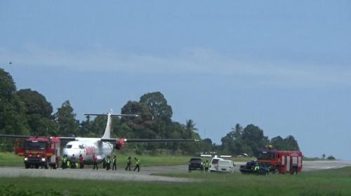 Wings Air Mendarat Darurat (Foto: Ist)