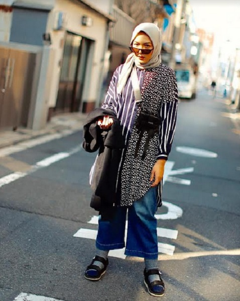 Hijab kulot