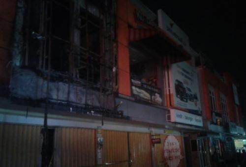 Ruko Terbakar di Bintaro