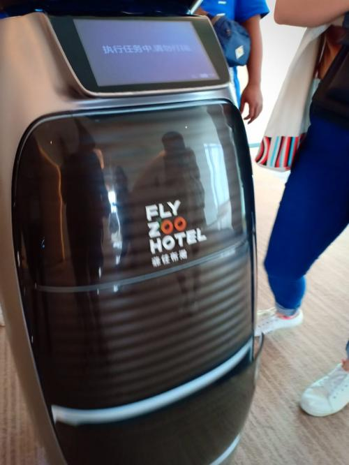 Fly Zoo Hotel di wilayah Xixi, Hangzhou, China (Foto: Okezone.com/Dani Jumadil Akhir)