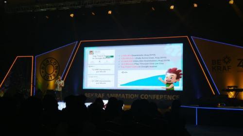 Badan Ekonomi Kreatif (Bekraf) menggelar Bekraf Animation Conference (BEACON) tahun ini.