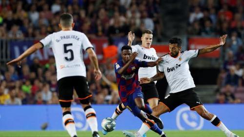 Ansu Fati tampil impresif saat Barca kalahkan Valencia 5-2