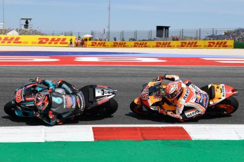 Fabio Quartararo memimpin balapan sepanjang 20 putaran (Foto: MotoGP)