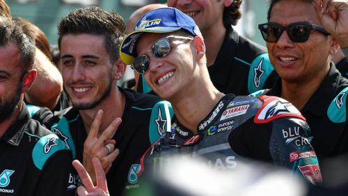 Fabio Quartararo menyelesaikan balapan di peringkat dua (Foto: MotoGP)