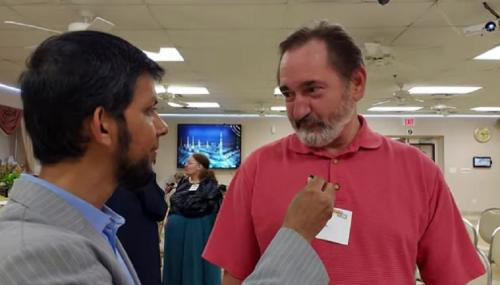 Warga AS mengunjungi masjid
