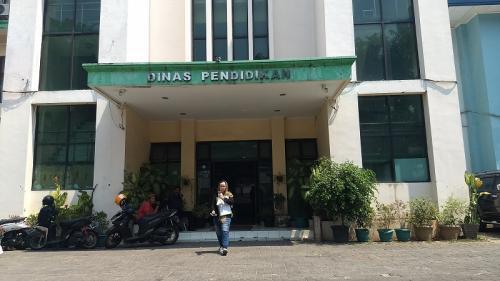 Dinas Pendidikan Kota Bekasi. (Foto : Okezone.com/Wijayakusuma)