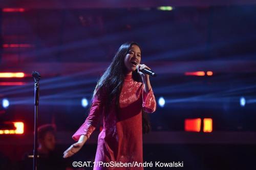 Claudia di panggung