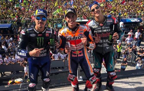 Podium MotoGP San Marino 2019