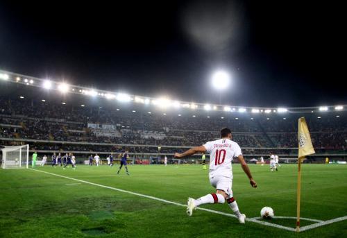 AC Milan susah payah menang atas Hellas Verona (Foto: AC Milan)