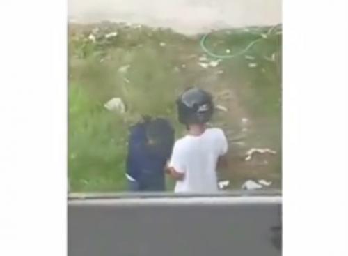 Video pria kasari perempuan. (Facebook/Kirana Putri Anjelina)