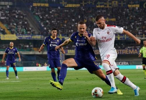 Ante Rebic dimasukkan untuk menambah daya gedor (Foto: AC Milan)